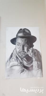 نقاشی چهره سیاه قلم در گروه  خدمات فرهنگی و هنری