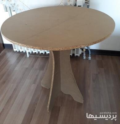 میز گرد همراه با پارچه روش در گروه  لوازم خانگی