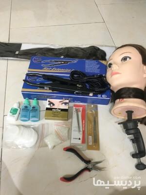 دستگاه اكستنشن مو مارك لوف و لوازم كاشت مژه در گروه  لوازم آرایشی و بهداشتی
