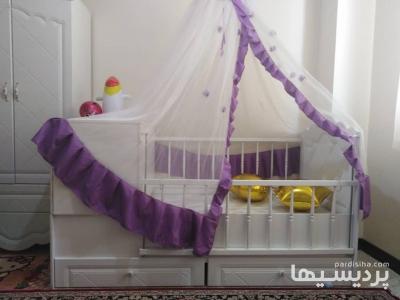 کمد و وترین و تخت دو منظوره بچه نو مناسب سیسمونی در گروه  لوازم خانگی