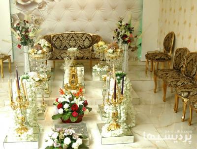 دفتر ازدواج با اتاق عقد مجلل در گروه  خدمات مجالس و مراسم