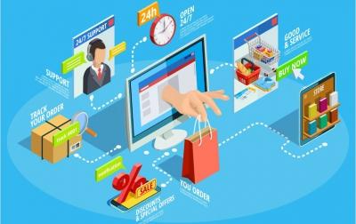 راه اندازی فروشگاه اینترنتی از صفر تا صد در گروه  خدمات کامپیوتر اینترنت و شبکه