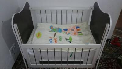 تخت کودک همراه با تشک در گروه  لوازم کودک