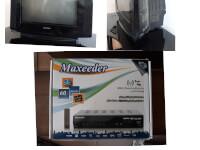 تلویزیون همراه با دستگاه دیجیتال