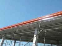 قیمت اجرای سقف سوله|هزینه اجرای سقف شیروانی رنگی