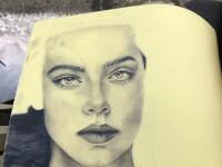 تتو بدن توسط نقاش حرفه ای