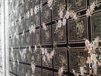 دو تخته فرش ۱۲ متری قالی سلیمان ابریشم گونه حد نو