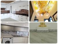 طراحی و اجرای انواع سقف کاذب،کشسان،سنگ بین کابینتی