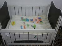 تخت کودک همراه با تشک